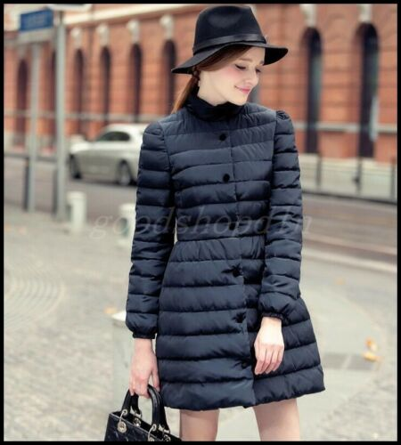 Occident Parka Long Coat Fit Mid Krave Stand Down Slim Jacket 90 Women Wintetr aOqrSa