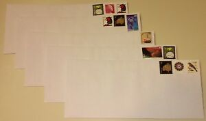 100 #10 White Wove GUMMED Envelopes with PRE-STAMPED 55¢ Combination / Forever