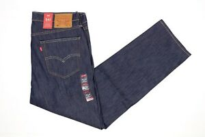 Levis-541-Mens-Jeans-36x32-White-Oak-Cone-Denim-Athletic-Stretch-Dark-Blue-NWT