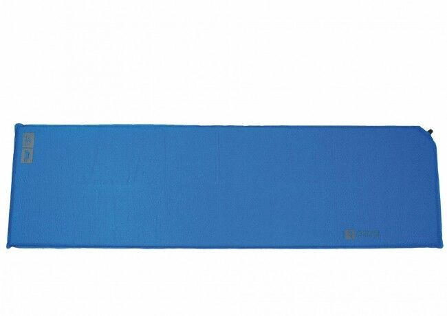 BASE L SELF INFLATE MAT is large camp lightweight thermalite air bed airbed blueee