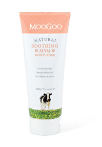 Details about MooGoo Natural Soothing MSM Moisturiser - For Irritable Skin  - Adults & Children