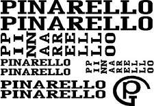 PINARELLO Road Racing bike Ciclo Cornice Adesivi Decalcomanie Set taglio Retrò qualsiasi colore