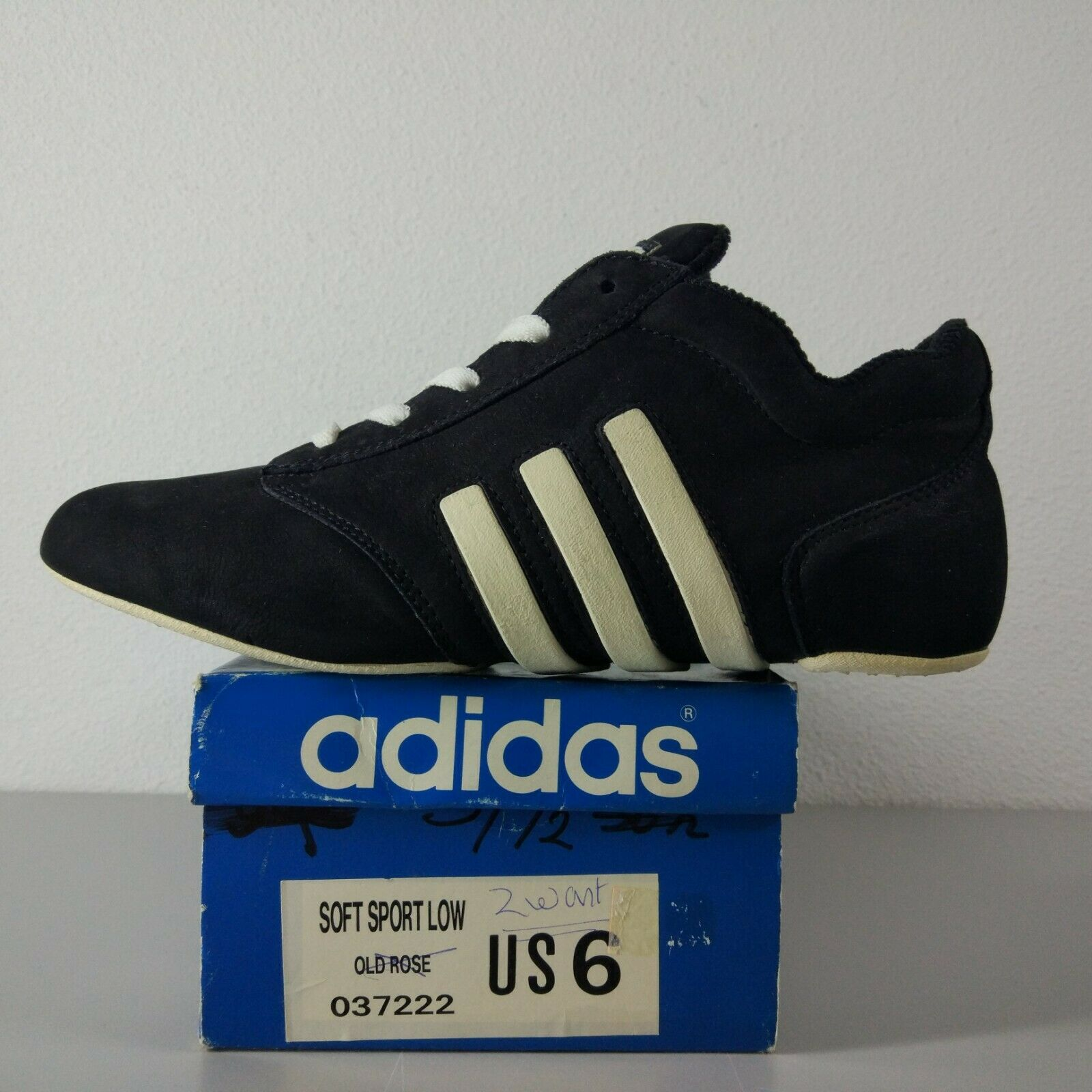 Adidas City Life US 5.5 Eur 38 2 3 Made In France Vintage 80's Torsion Rare OG