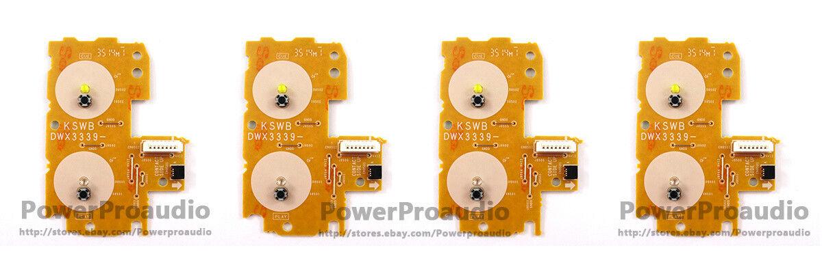 4 pcs lot CDJ 2000 Nexus - Play Cue Circuit Board PCB DWX 3339 DWX3339 JAPAN