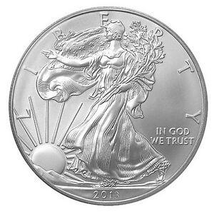 2013 Us Mint American Silver Eagle 1 Dollar Unc Coin Ebay