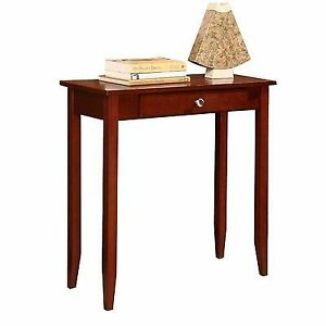Dhp Rosewood Console Table In Medium Coffee