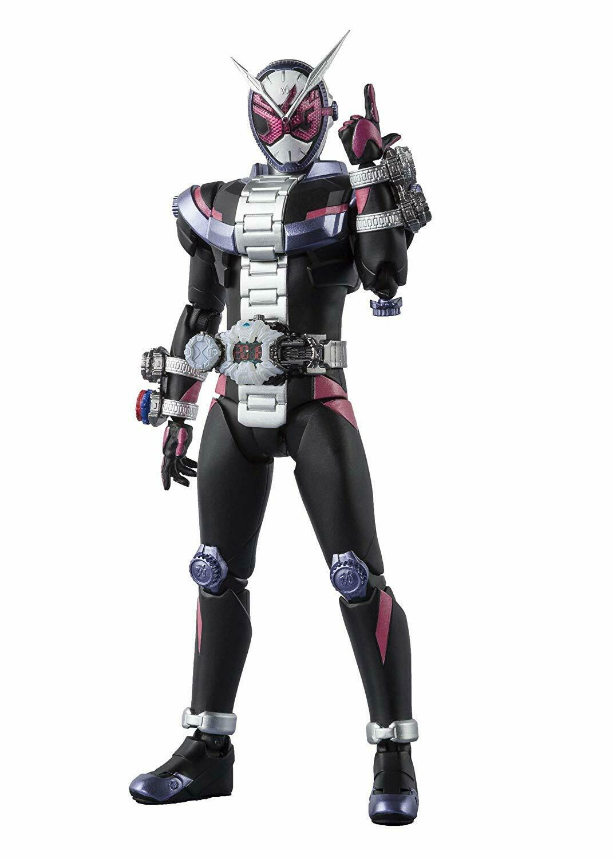 BANDAI S.H. Figuarts enmasCocheado Kamen Rider Zi-o completa acabado Figura De Acción De Pvc