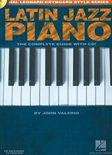 Salsa Piano The Complete Guide with Online Audio Hal Leonard Keyboar 000311049