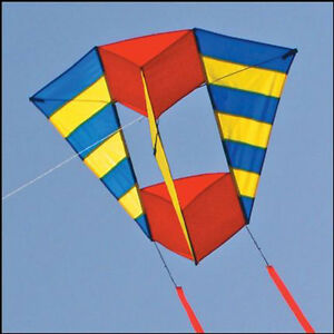 NEW-31In-B-box-3D-Nylon-Kite-Outdoor-fun-Sports-novelty-stunt-kites-red