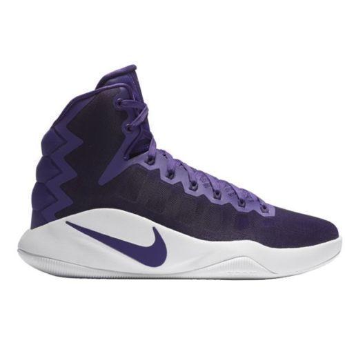 Nike Men's Hyperdunk 2018 TB Basketball Shoes 844368-551 Size 18 Purple White