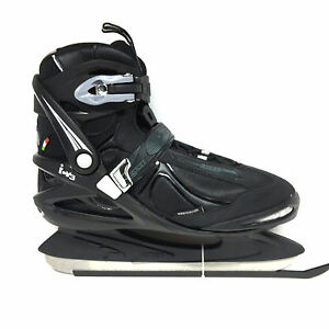Roces-ICY-3-Eislauf-Schlittschuhe-Semisoft-Unisex-Gr-44-Freizeit-Eishockey-Kufe