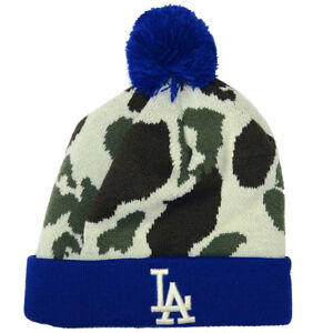 997130fe4 Details about Los Angeles Dodgers 47 Brand Bushroot Knit Hat with Pom