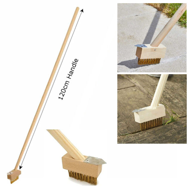 PATIO WEEDER SET Tool Weed Weeding Remover Garden Paving Slab Groove Moss Drive