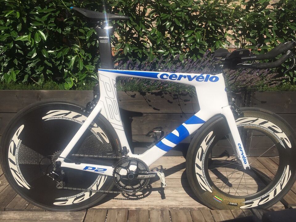 Cervelo P2 enkeltstartscykel/tri-cykel