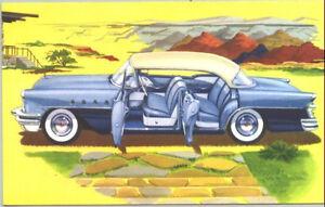 1955 Buick Riviera 4 Door Auto Refrigerator Tool Box Magnet Gift Card Insert