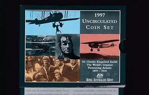 1997-UNC-Coin-SET-Australia-uncirculated