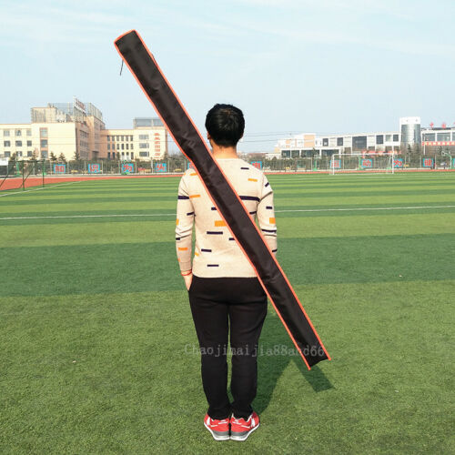 Chinese Martial art Equipment Carry Red-tasselled Spear Carrying Case stick Bag