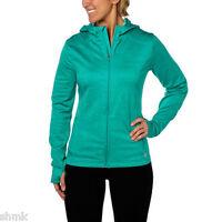 Mondetta Ladies' Hooded Jacket Seaglass Green Size L