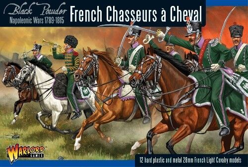 WGN FR 12 Bolt Action Warlord Games Napoleonica Francese Cacciatori & Cheval