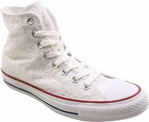 Details about Converse Chuck Taylor All Star Hi Top WhiteGarnetClematis Blue (WS)(555978F)