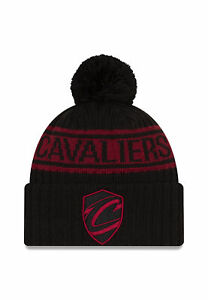New Era NBA21 Darft Knit Gorra Cleveland Cavaliers Negro Rojo Oscuro