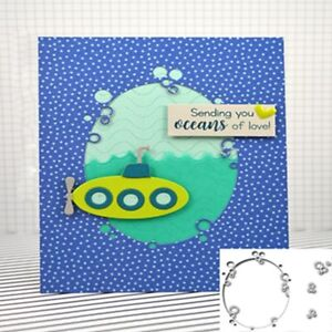 Oval Plants Metal Cutting Dies Stencil Scrapbooking Embossing Crafts