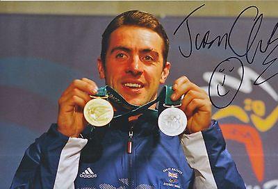 Olympic Memorabilia Ingenious Jason Queally Hand Signed Olympics 12x8 Photo Great Britain 1.