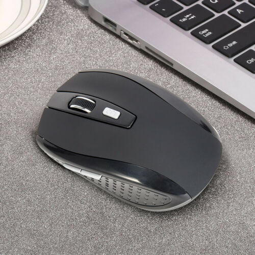 2.4GHz Wireless Cordless Optical Mouse Mice USB Receive For PC Laptop Computer