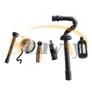 Pompes-a-Huile-Tuyau-d-039-essence-Filtre-Pour-Stihl-021-023-025-MS210-MS230-MS250
