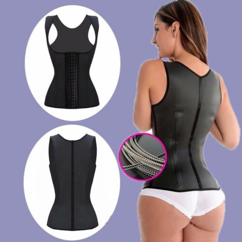 AU Newest Waist Trainer Body Shaper Women Corset Latex Rubber Training Underbust