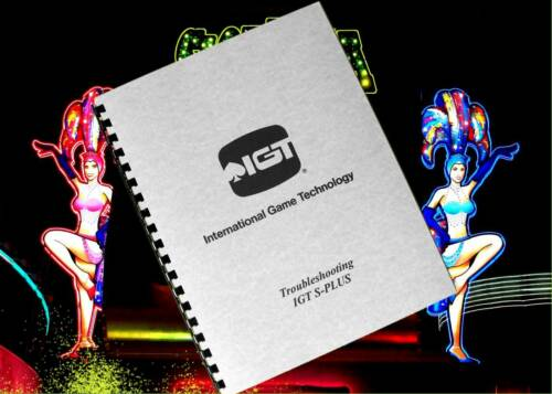 IGT S Slot Machine Service /& Troubleshooting Guide Owners Manual 1995 PLUS S