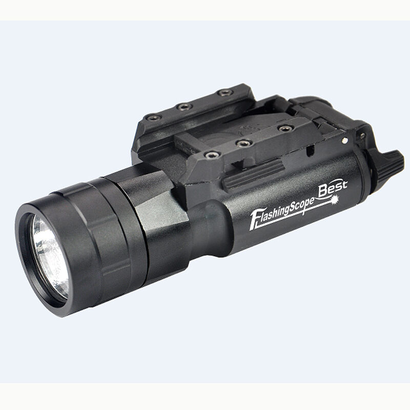 420 Lumen LED Tactical Flashlight with Picatinny Rail Mount for Rifle Pistol Gun