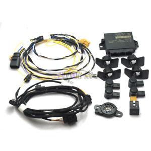 FRONT-OPS-PDC-4-Sensors-Parking-System-Set-For-VW-GOLF-MK6-RNS-RCD510-MFD3