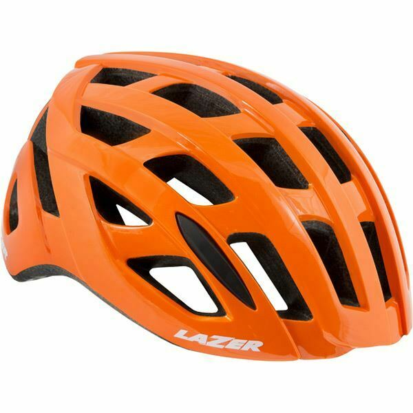 LAZER TONIC Casco, Flash Arancione, Media