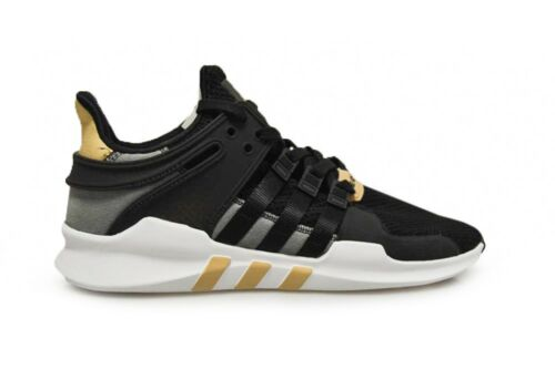 Mens Adidas Equipment Support ADV 91/16 - CQ1695 - Black White Trainers