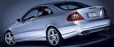 Mercedes AMG W209 C209 CLK55 CLK63 Rear Bumper Diffuser Insert AMG Styled models