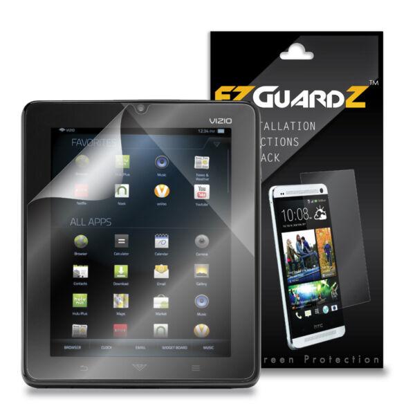 """1x Ezguardz Screen Protector Shield Hd 1x For Vizio Vtab1008 8"""" Tablet (clear) Geschikt Voor Mannen, Vrouwen En Kinderen"""