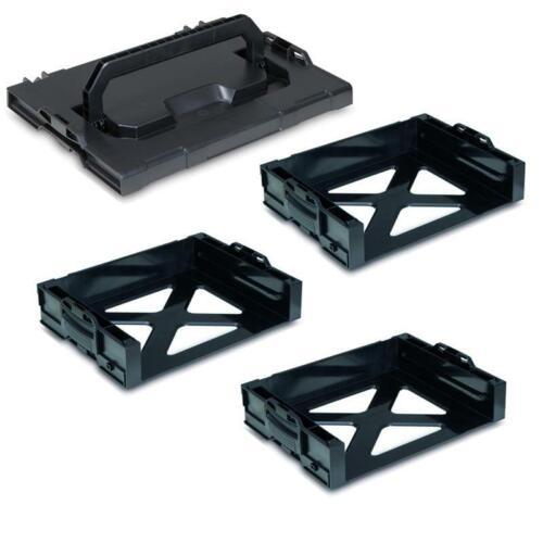 LS-Tray 72 3er Set Deckel Sortimo i-Boxx Rack Active für Systemkoffer i-Boxx