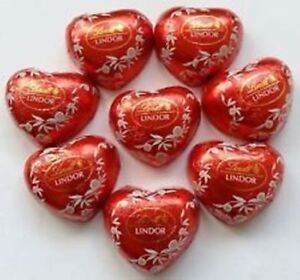 Lindt Lindor Hearts Milk Chocolate Truffles Christmas Present