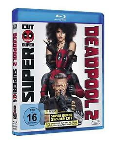 Deadpool-Teil-2-als-Super-Duper-Extended-Cut-2-Blu-ray-039-s-NEU-OVP-Ryan-Reyno