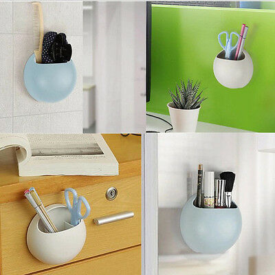 Welcome Wall Suction Soap Cups Toothpaste Holder Kitchen Bathroom Organizer