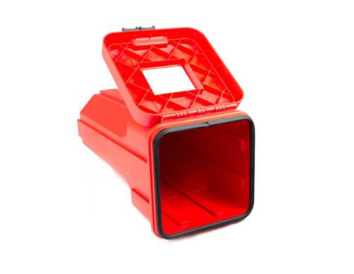Feuerlöscher Kasten für 6 Kg Sliden mit horizontaler Halterung Daken LKW