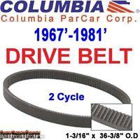 Columbia Par Car Golf Cart Clutch Drive Belt 1967'-1981' 36394-67