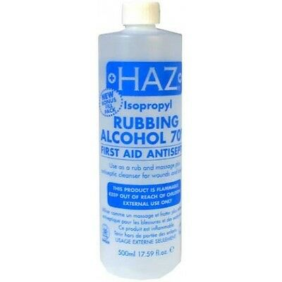 Haz Isopropyl Rubbing Alcohol 70% 500ml**FAST DELIVERY**
