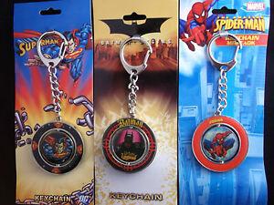 Swivel-Superhero-Keyrings-Great-Gift-Choose-your-favourite-hero