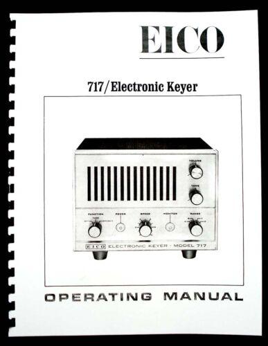 EICO Model 717 Electronic Keyer Operating Manual