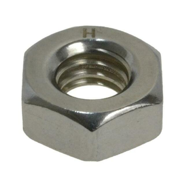 """1/8"""" x 40 TPI BSW HEX NUT Imperial Coarse Stainless A2-70 G304"""