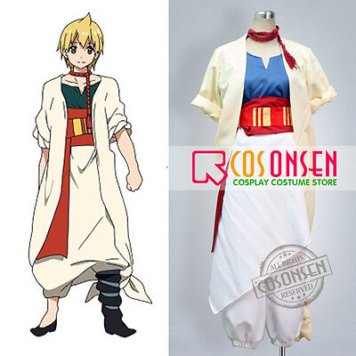Cosonsen Magi The Labyrinth of Magic Alibaba Cosplay Costume All Size