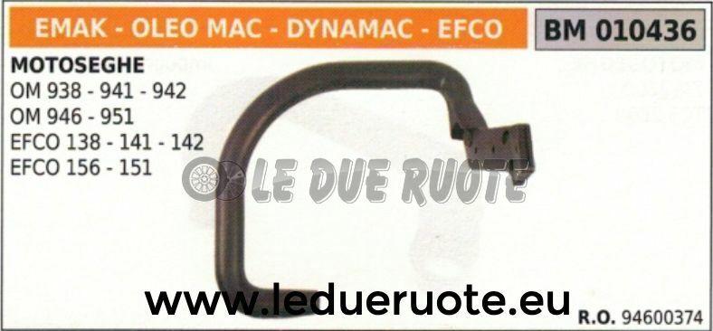 94600374 Handle Handle Tubular Chainsaw Oleomac 938 941 942 946 951