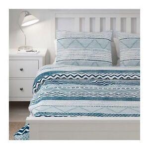 Details About Ikea Provinsros Duvet Cover Set Denim Blue White Southwest Twin Queen King Fresh